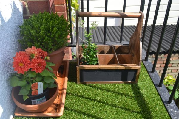 balcony gardens prove no space is small for plants on Artificial Garden For Balcony id=64046