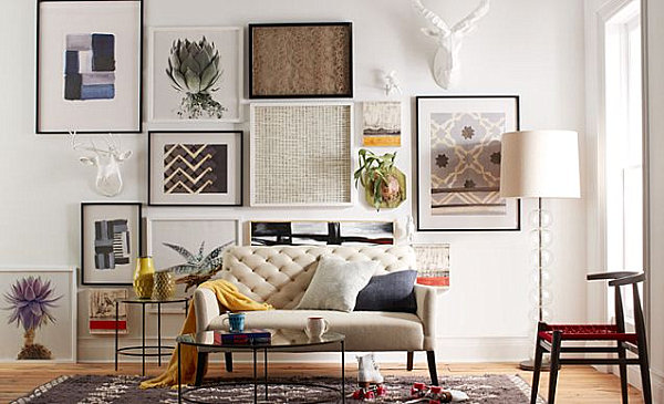17 Creative Living Room Interior Design Ideas on Creative Living Room Wall Decor Ideas  id=70804