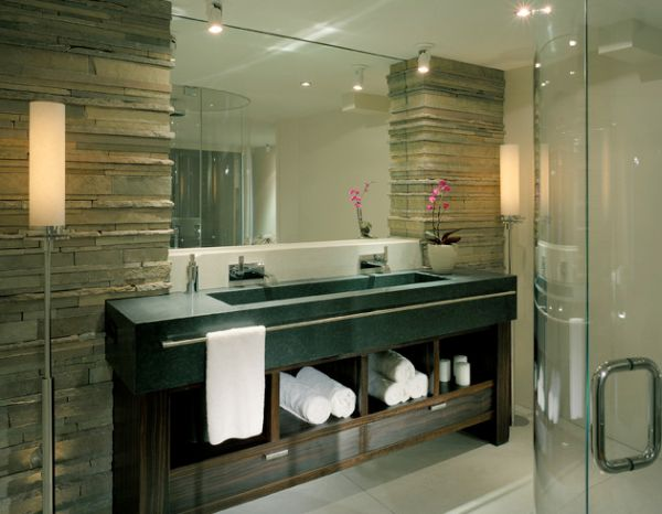 Great Bathroom Towel Decorating Ideas You