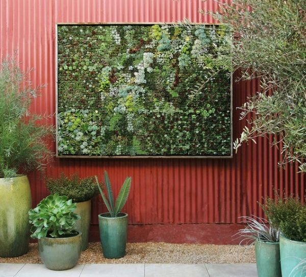 vertical garden wall panel Cool DIY Green Living Wall Projects For Your Home