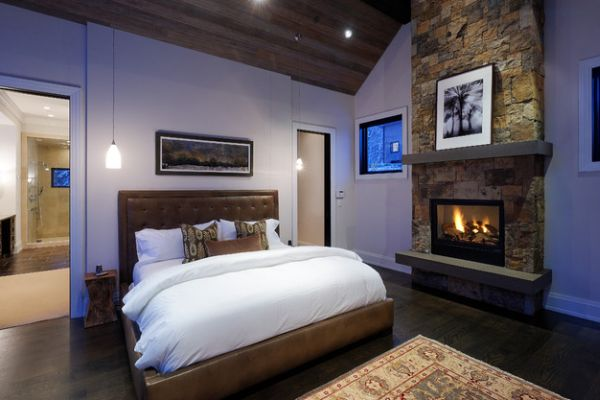 50 bedroom fireplace ideas: fill your nights with warmth and romance!