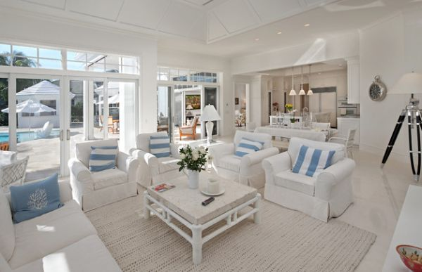 Beach Style Living Room Furniture Facemasrecom