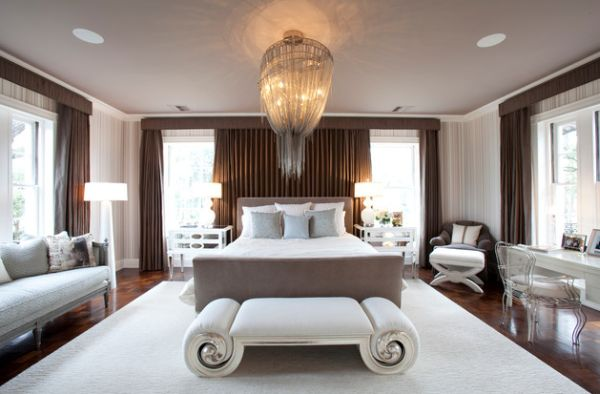 View In Gallery Ont Bedroom With Lavish Hotel Decorating Style Give Your Home A Stylish Ambiance