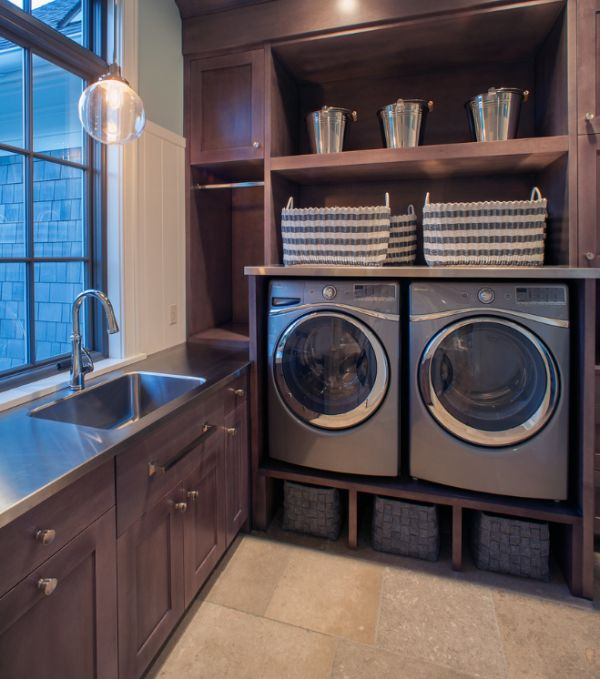 33 Laundry Room Shelving And Storage Ideas on Laundry Room Shelves Ideas  id=24967