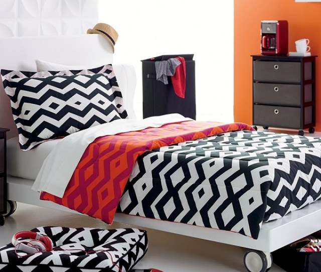 View In Gallery Reversible Tribal Print Comforter