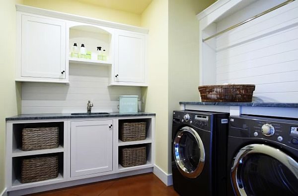 33 Laundry Room Shelving And Storage Ideas on Laundry Room Shelves Ideas  id=91094
