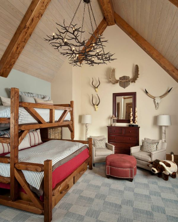 50+ Modern Bunk Bed Design Ideas for Small Bedrooms on Small Bedroom Ideas For Boys  id=46631
