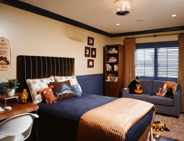 Cool Boys Room Paint Ideas For Colorful And Brilliant ... on Teenage Room Colors For Guy's  id=58350