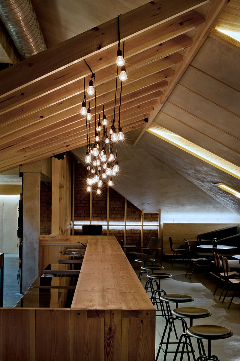 Ravishing ATTIC Bar Blends Rustic Textures With
