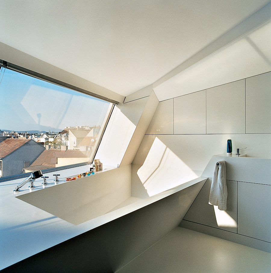 Mind Blowing Penthouse Design In Vienna Charms With
