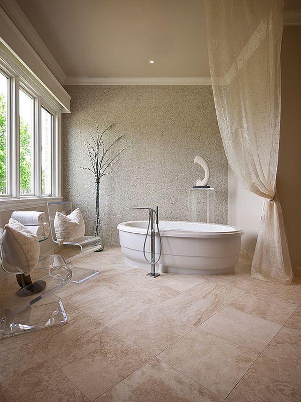 Monochromatic Decorating Ideas And Their Stylish Appeal on Monochromatic Bathroom Ideas  id=89423