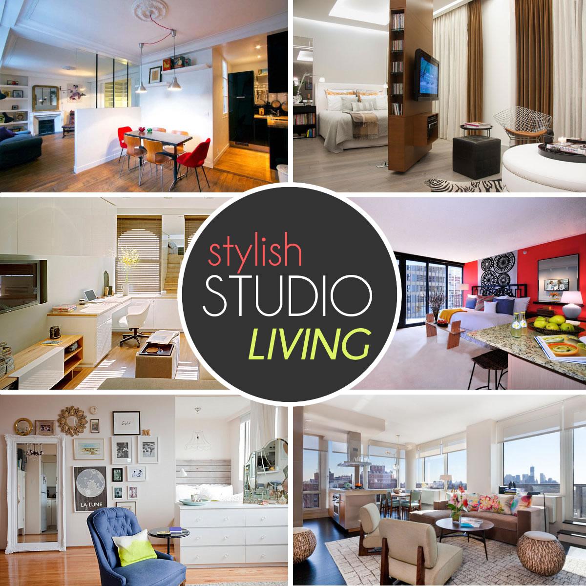 Stylish Studio Living Ideas Decoist