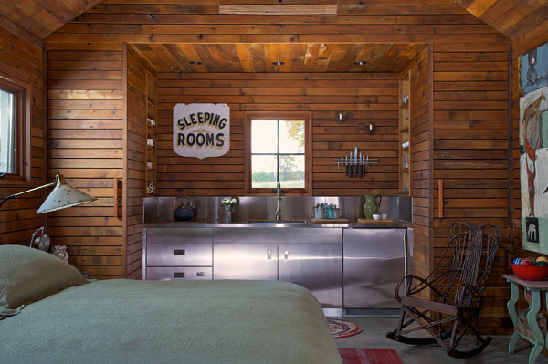 Small Cabin Decorating Ideas and Inspiration View in gallery All in one vacation annex