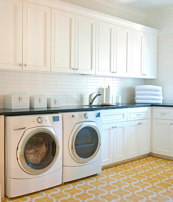 Organize Your Laundry Room In Style on Laundry Cabinets  id=78295