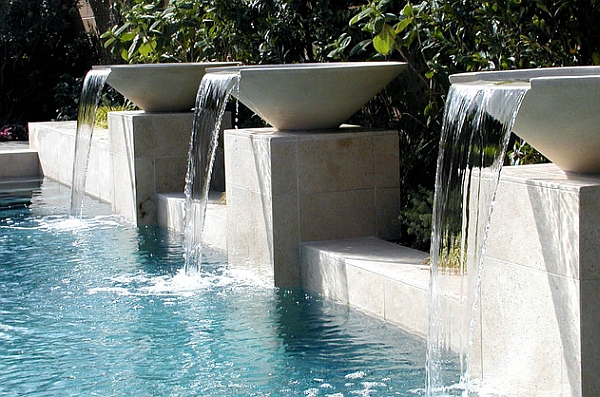 Breathtaking Pool Waterfall Design Ideas
