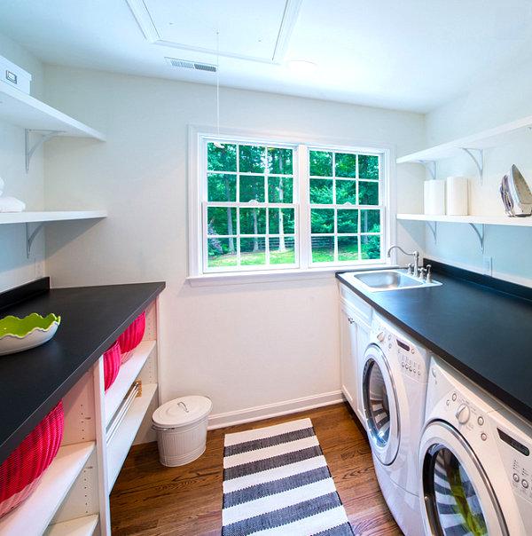 Eye-Catching Laundry Room Shelving Ideas on Laundry Room Shelves Ideas  id=87141