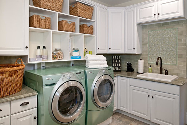 Eye-Catching Laundry Room Shelving Ideas on Laundry Room Shelves Ideas  id=44843