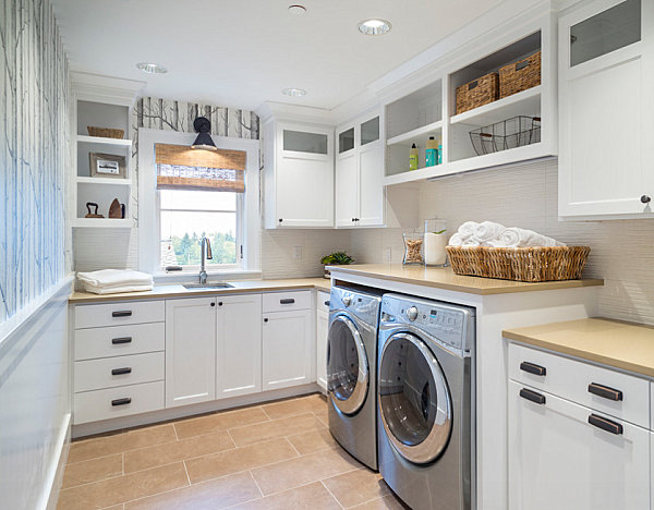 Eye-Catching Laundry Room Shelving Ideas on Laundry Room Shelves Ideas  id=19052