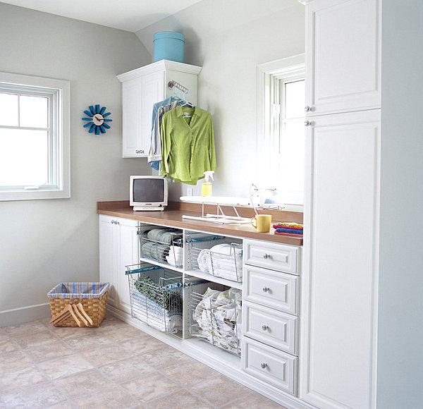 Eye-Catching Laundry Room Shelving Ideas on Laundry Room Shelves Ideas  id=94537