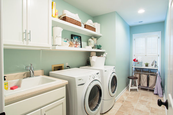 Eye-Catching Laundry Room Shelving Ideas on Laundry Room Shelves Ideas  id=31181