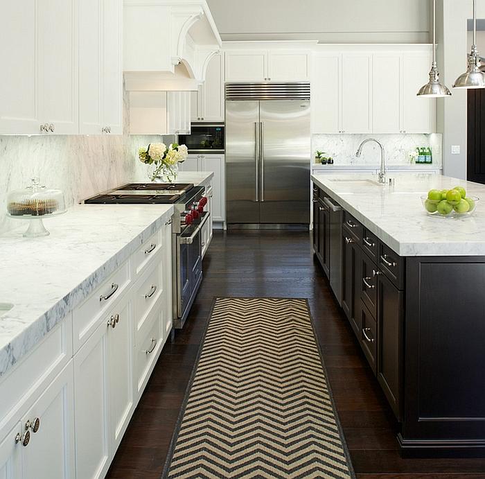 Zigzag Patterns In Kitchen Chevron And Herringbone