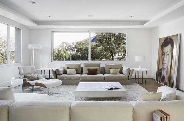 50 Minimalist Living Room Ideas For A Stunning Modern Home on Minimalist Living Room  id=63120