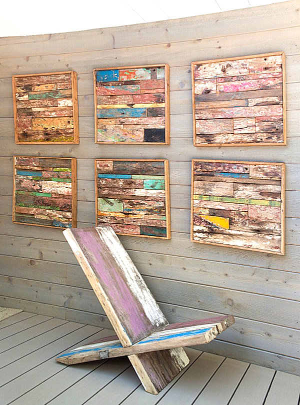 Wood Photo Wall Art