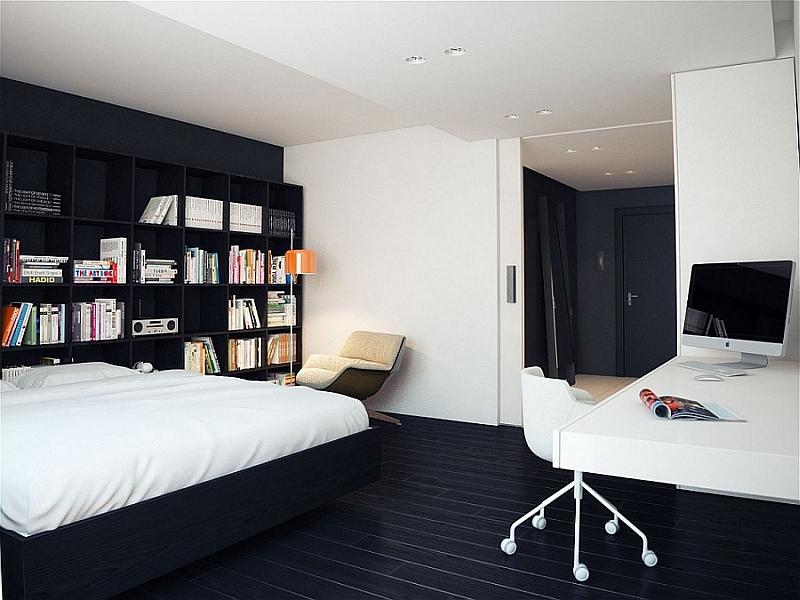 50 Minimalist Bedroom Ideas That Blend Aesthetics With ... on Minimalist Bedroom Ideas  id=59044