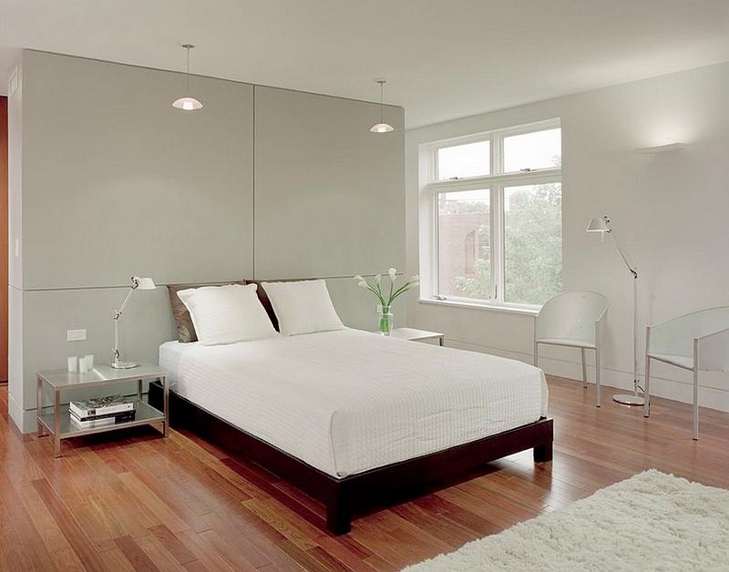 50 Minimalist Bedroom Ideas That Blend Aesthetics With ... on Bedroom Minimalist Design Ideas  id=94492