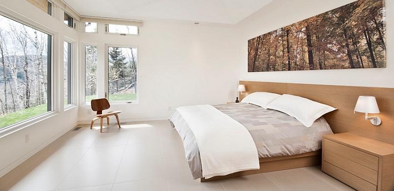 50 Minimalist Bedroom Ideas That Blend Aesthetics With ... on Minimalist Bedroom Design Ideas  id=94532