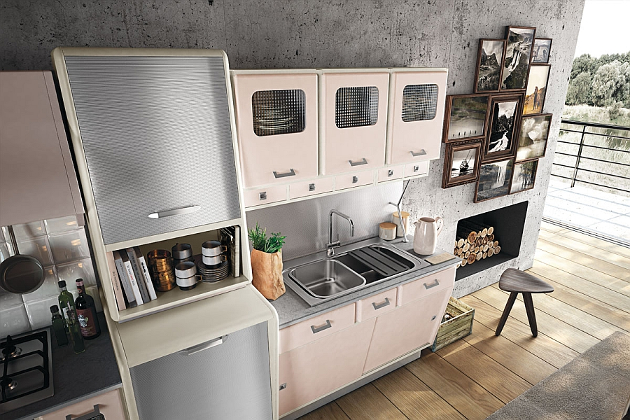 Vintage Kitchen Offers A Refreshing Modern Take On Fifties