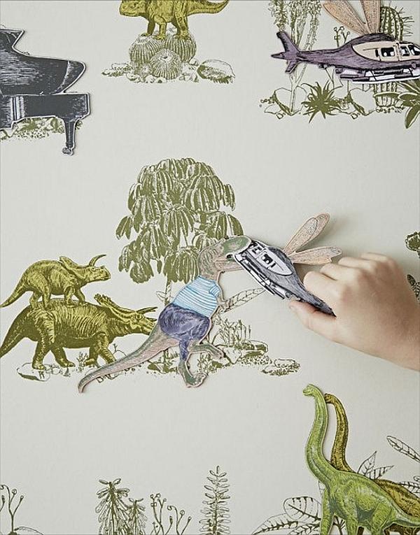 Sian Zeng μαγνητική Dino Wallpaper