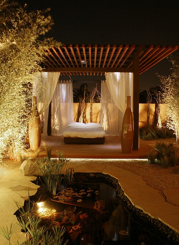40 Outdoor Beds For An Amazing Summer on Romantic Backyard Ideas id=61596