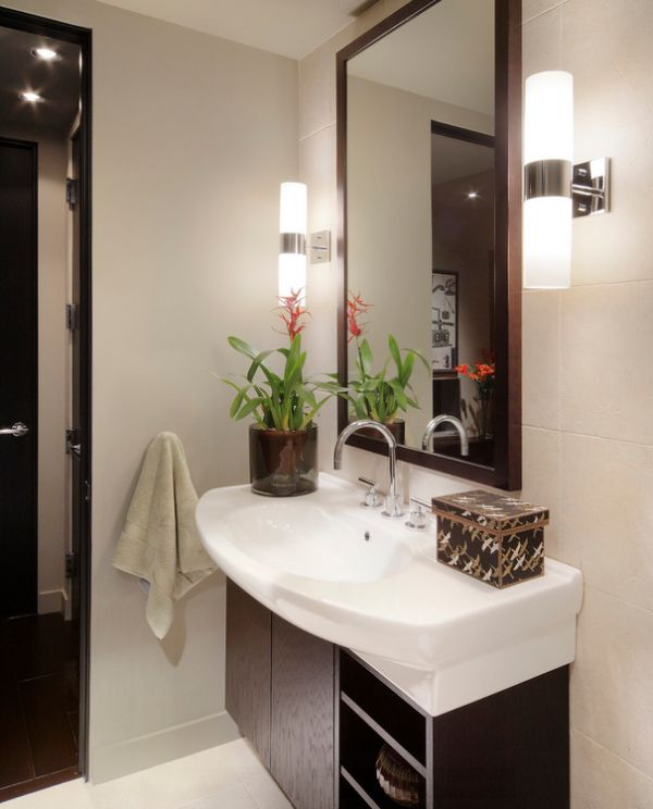 How To Use Wall Sconces: Design Tips, Ideas on Bathroom Wall Sconce Lighting id=79358