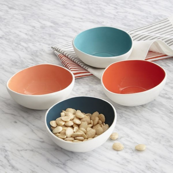 Colorful prep bowls
