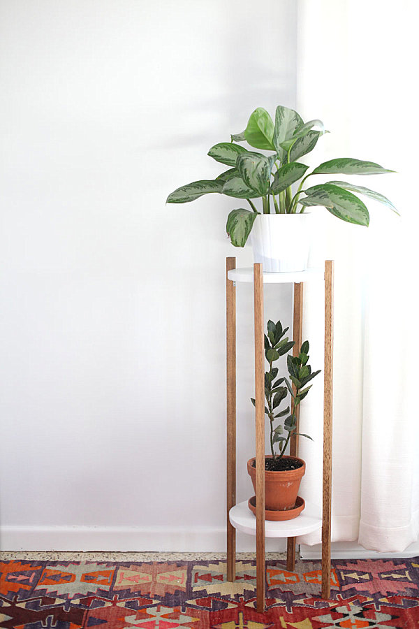 Wooden Plant Stands Indoor Uk