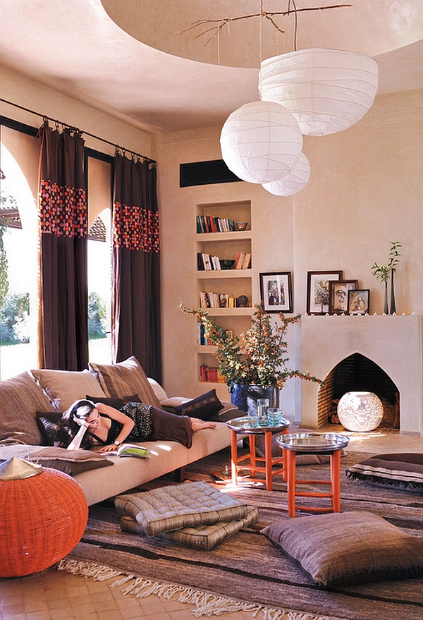 Bohemian Style Interiors, Living Rooms and Bedrooms on Modern Boho Decor  id=42872