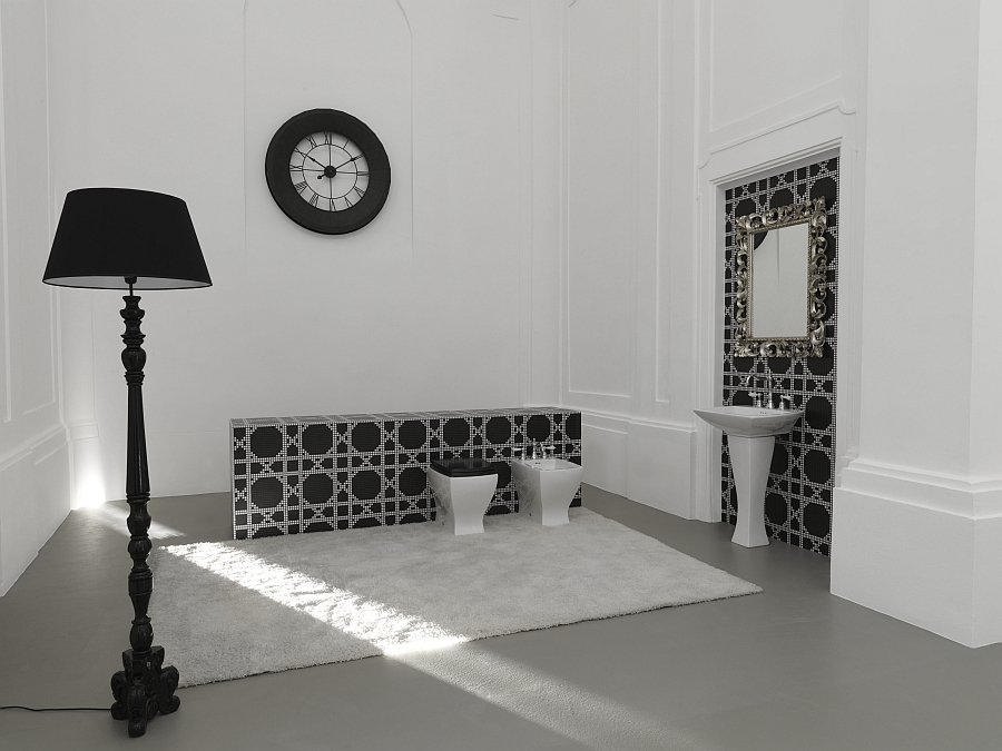 Trendy Bathroom Decor With An Art Deco Twist From Artceram