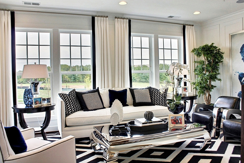 decorating your home with black ideas