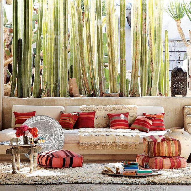 Moroccan Patios, Courtyards Ideas, Photos, Decor And ... on Moroccan Backyard Design  id=40878