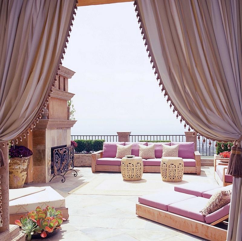 Moroccan Patios, Courtyards Ideas, Photos, Decor And ... on Moroccan Backyard Design  id=68644