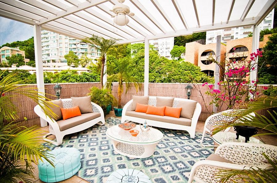 Moroccan Patios, Courtyards Ideas, Photos, Decor And ... on Moroccan Backyard Design  id=95321