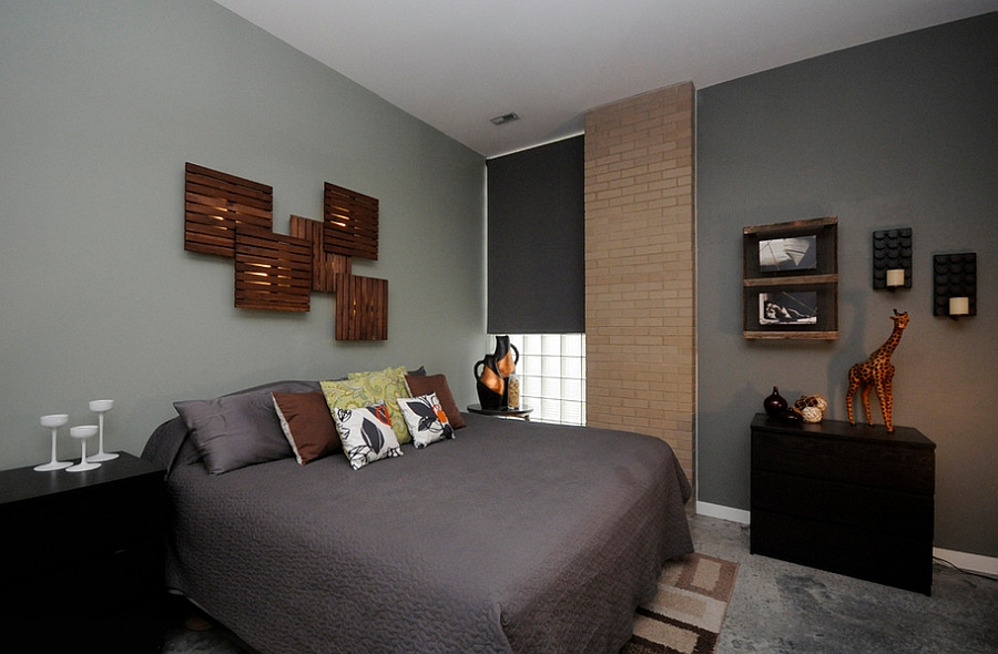 Masculine Bedroom Ideas, Design Inspirations, Photos And ... on Bedroom Wall Decor  id=47644