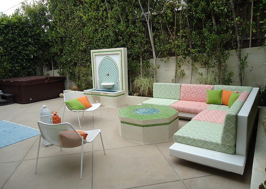 Moroccan Patios, Courtyards Ideas, Photos, Decor And ... on Moroccan Backyard Design  id=33520