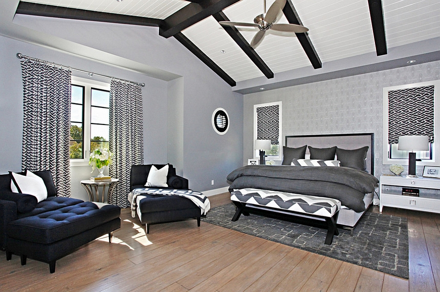 Masculine Bedroom Ideas  Design Inspirations  Photos And Styles View in gallery Gray is a perfect choice for the modern bedroom with a cool   masculine aura