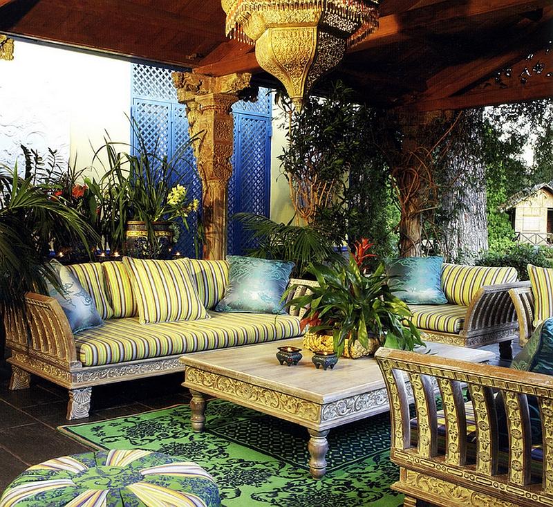 Moroccan Patios, Courtyards Ideas, Photos, Decor And ... on Moroccan Backyard Design  id=57354