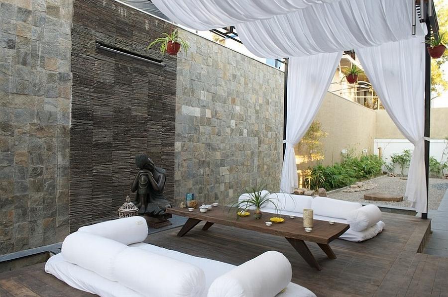 Moroccan Patios, Courtyards Ideas, Photos, Decor And ... on Moroccan Backyard Design  id=68484