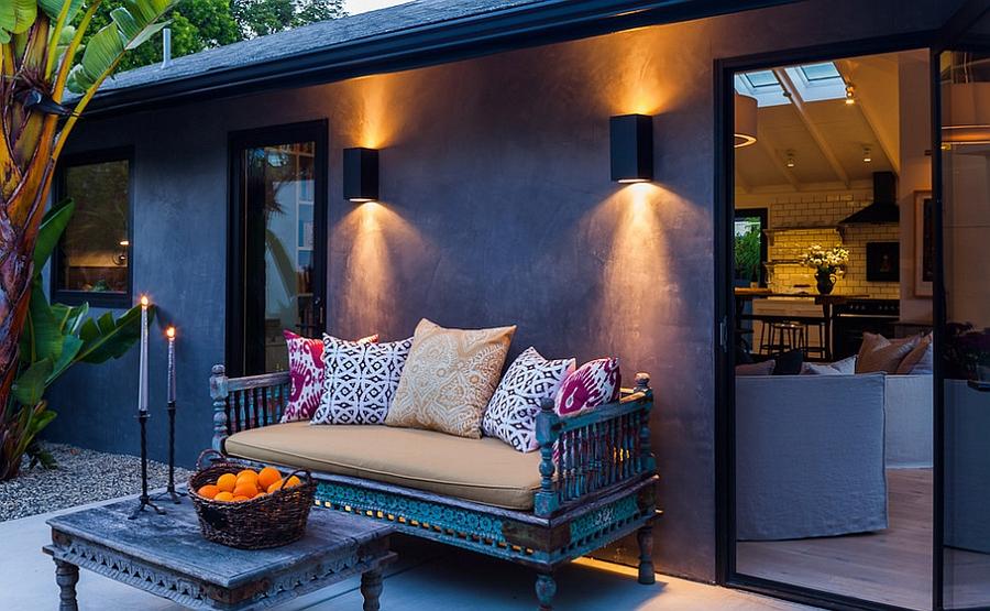 Moroccan Patios, Courtyards Ideas, Photos, Decor And ... on Moroccan Backyard Design  id=93251