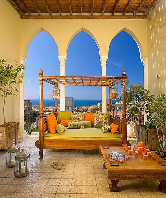 Moroccan Patios, Courtyards Ideas, Photos, Decor And ... on Moroccan Backyard Design  id=40417