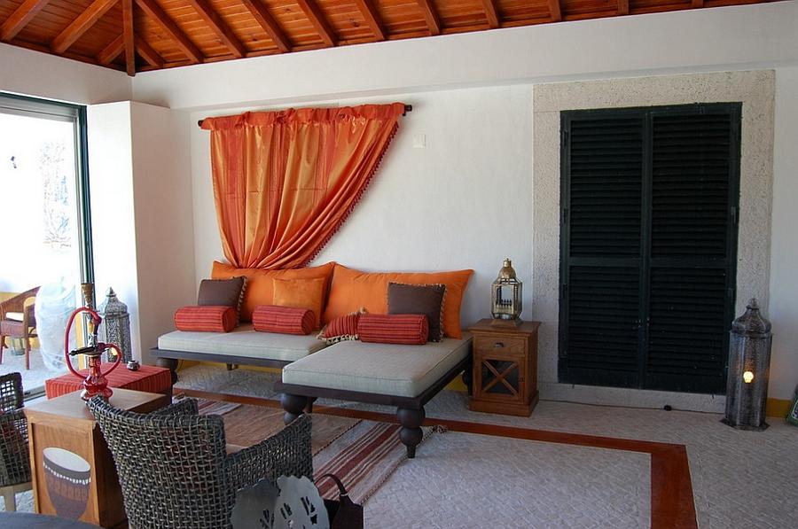 Moroccan Patios, Courtyards Ideas, Photos, Decor And ... on Moroccan Backyard Design id=37113